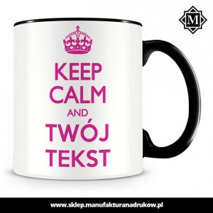 Kubek z nadrukiem Keep Calm